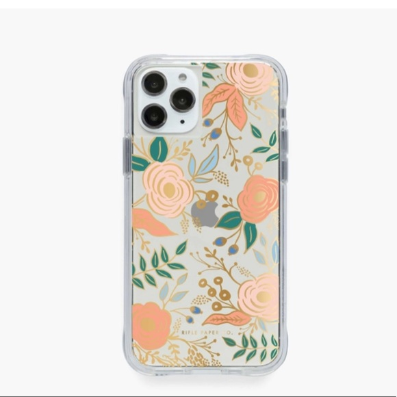 Rifle paper co. Clear Colette iPhone Case